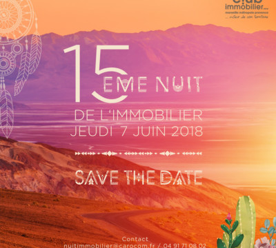 Save The Date Nuit Immobilier Cimp 07 06 2018