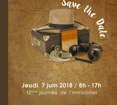 Save The Date 12È Journée De Limmobilier Ccimp Du 07 06 2018