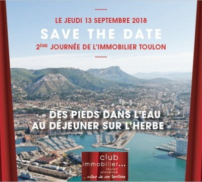 Save The Date 2È Journée De Limmobilier À Toulon 13 09 2018A